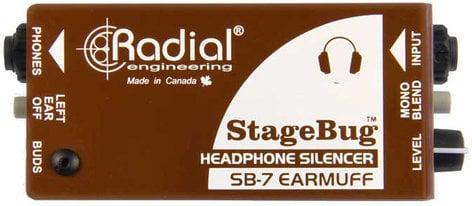 Radial Engineering StageBug SB-7 Earmuff Headphone Silencer STAGEBUG-SB7