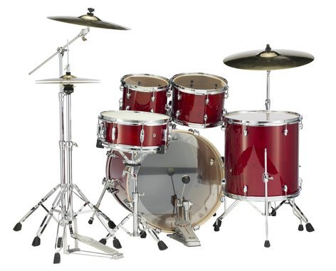 Pearl Drums EXL705-246 5 Piece Drum Kit in Natural Cherry Lacquer Finish with 830 Series Hardware EXL705-246