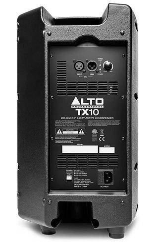 "Alto Professional TX10 10"" 2-Way 280W Peak Active Loudspeaker TX10"