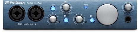 PreSonus AudioBox iTwo 2x2 USB/iPad Recording Interface with MIDI I/O AUDIOBOX-ITWO