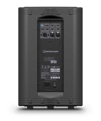 """Turbosound Milan M10 10"""" 600W Peak Active Loudspeaker with KLARK TEKNIK DSP Technology MILAN-M10"""