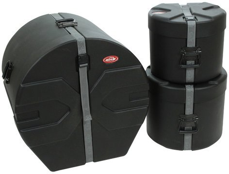 "SKB 1SKB-DRP1 3 Piece Drum Case Kit - 10""x12"", 12""x14"", 18""x22"" 1SKB-DRP1"