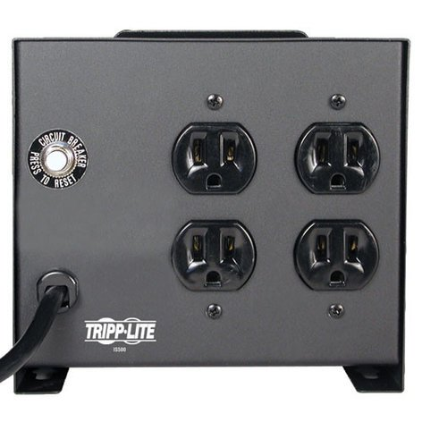 Tripp Lite IS500 500W Isolation Transformer-Based Power Conditioner IS-500