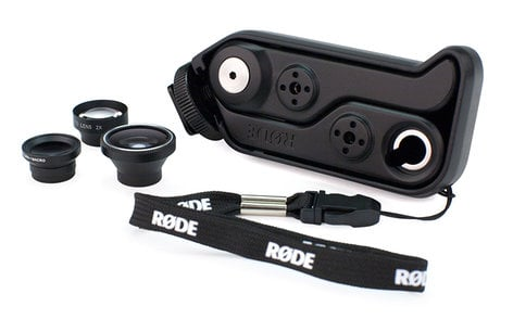 Rode RODEGRIP+5 PLUS Multi-Purpose Mount & Lens Kit for iPhone 5/5s RODEGRIP+5