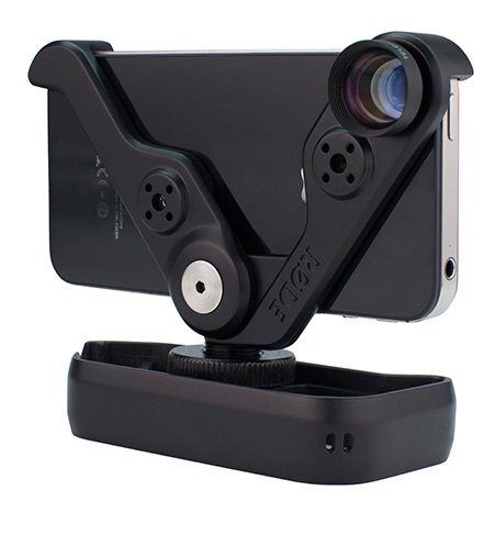 Rode RODEGRIP5-PLUS Multi-Purpose Mount & Lens Kit for iPhone 5/5s RODEGRIP+5