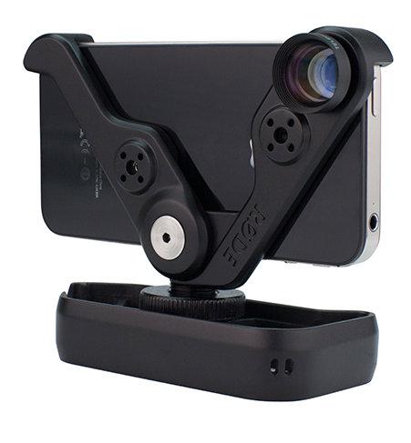 Rode RODEGRIP5C-PLUS Multi-Purpose Mount & Lens Kit for iPhone 5c RODEGRIP+5C
