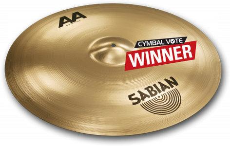 "Sabian 221BCB 21"" AA Bash Ride Cymbal in Brilliant Finish 221BCB"