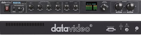 Datavideo AD-200 6 Channel Audio Delay - Mixer with Level Adjustment AD-200