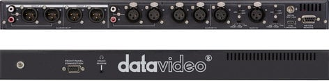 Datavideo Corporation AD-200 6 Channel Audio Delay - Mixer with Level Adjustment AD-200