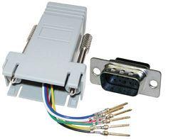 BTX CD-A9538M  DB9 to RJ45 Male Adapter CD-A9538M