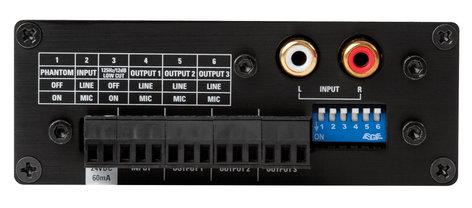 Atlas Sound TSD-DA13 1x3 Audio Distribution Amplifier TSD-DA13
