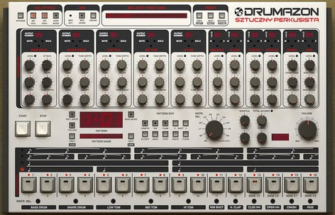 D16 Group Drumazon TR-909 Emulation Software Plugin DRUMAZON