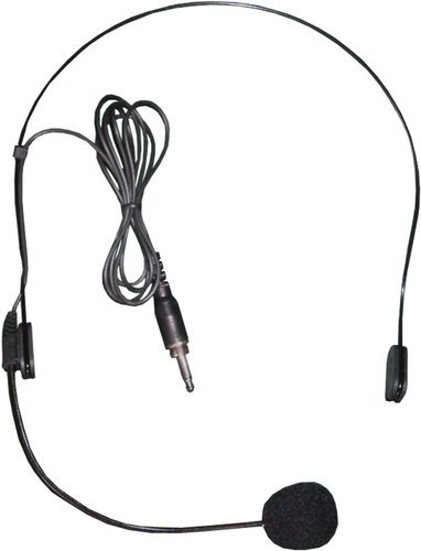 "Galaxy Audio HS13-UBK  Cardioid Condenser Headset Microphone with 1/8"" Threaded Connector HS13-UBK"