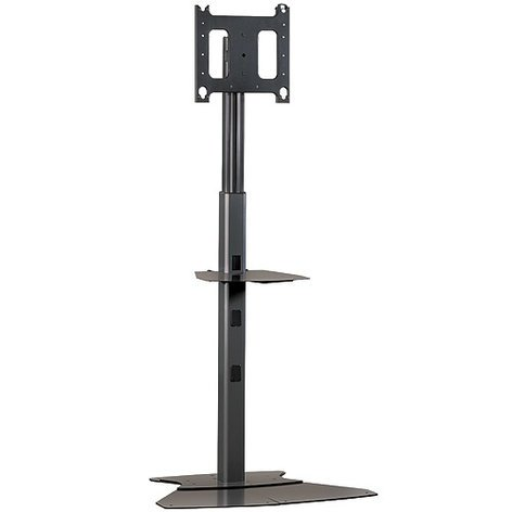 Chief Manufacturing PF12000B  4-7 ft Large Flat Panel Floor Stand PF12000B