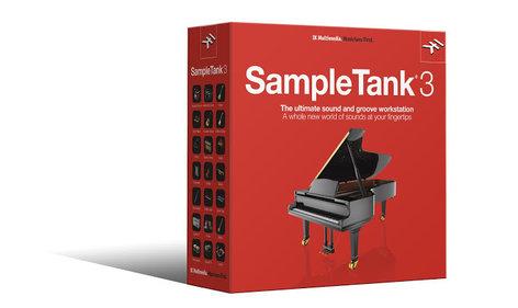 IK Multimedia SampleTank 3 Sample Workstation Virtual Instrument Software Plugin SAMPLETANK-3-FULL
