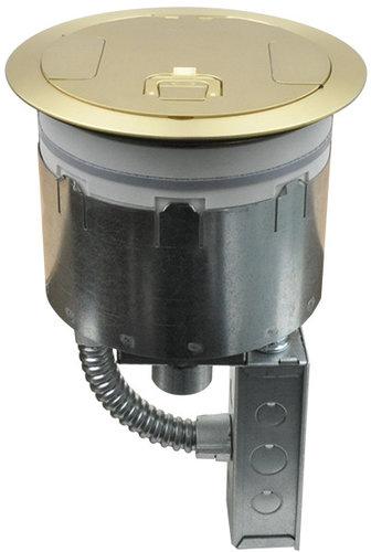 "FSR, Inc SF8-PT-JNC1  8"" Poke-Thru without Cover or Sub Plate SF8-PT-JNC1"