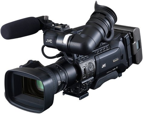 JVC GYHM890C14 ProHD Shoulder Camcorder with Canon KT14X44KRS Lens GYHM890C14