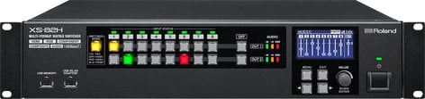 Roland System Group XS-82H 8-in x 2-out Multi-Format AV Matrix Switcher XS-82H