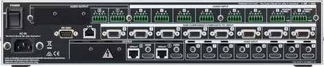 Roland XS-82H 8-in x 2-out Multi-Format AV Matrix Switcher XS-82H