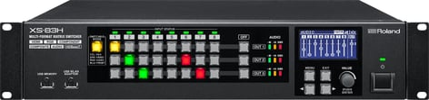 Roland System Group XS-83H 8-in x 3-out Multi-Format AV Matrix Switcher XS-83H