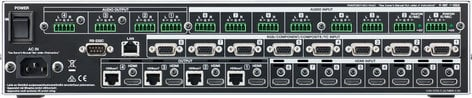 Roland System Group XS-84H 8-in x 4-out Multi-Format AV Matrix Switcher XS-84H