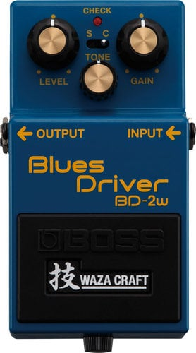 Boss BD-2W Waza Craft Special Edition Blues Driver Guitar Distortion Pedal BD-2W