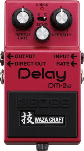 Boss DM-2W Waza Craft Special Edition Analog Delay Guitar Pedal DM-2W