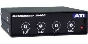 Audio Technologies BI400 IHF to PRO, 4 Channel INterface Converter with RCA to XLR BI400
