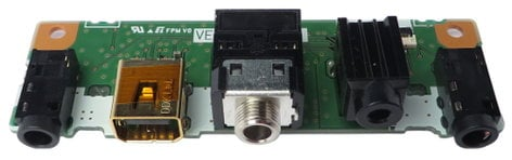 Panasonic VEP20C74A  PC Jacks PCB for AG-HMC40P VEP20C74A