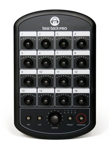 Hear Technologies PROHBM  Hear Back PRO 18-Channel Personal Monitor Mixer PROHBM