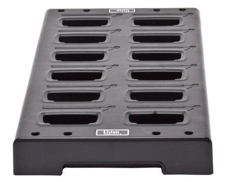 Listen Technologies LA-381 Intelligent 12-Unit Charging Tray for iDSP Products LA-381-01