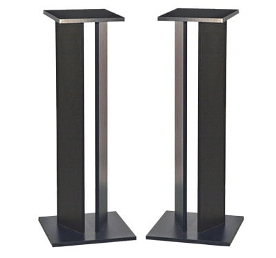 "Argosy Consoles SS42-B-PAIR Pair of 42"" Classic Speaker Stands SS42-B-PAIR"