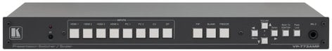 Kramer VP-773AMP 8-Input HDMI and HDBaseT ProScale Presentation Switcher-Scaler with 2K Support and Audio Power Amplifier VP773-AMP