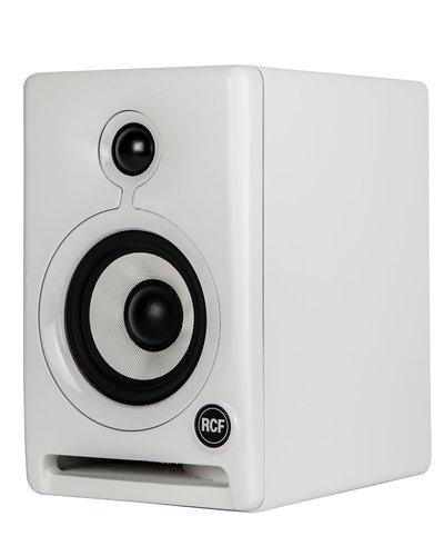 """RCF AYRA 4 Pair of 4"""" 2-Way Active Studio Monitors in White AYRA-4-PAIR-WHT"""