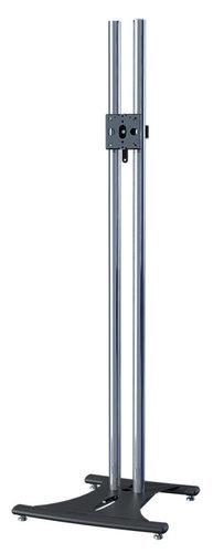 "Premier Mounts PSD-EB84 Elliptical Floor Stand with 84"" Chrome Poles PSD-EB84"