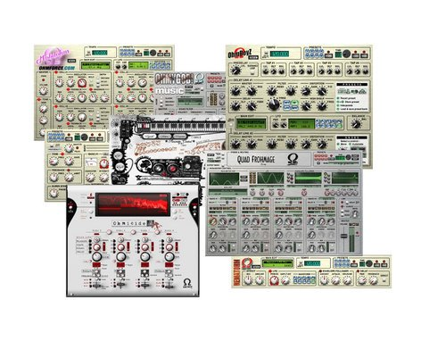 OHM Force All All Bundle All Ohm Force Software Plugins Bundle with OhMyGod ALL-BUNDLE