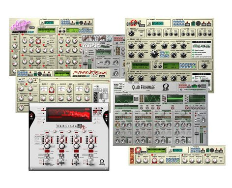 OHM Force All Effects Bundle All Ohm Force Effect Software Plugins Bundle with OhMyGod ALL-EFFECTS-BUNDLE