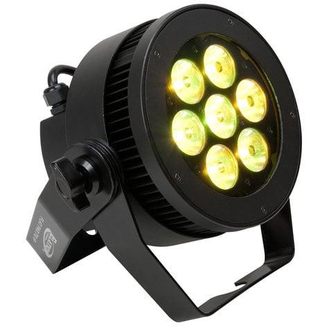 Elation Pro Lighting Level Q7 IP 7x 15W RGBW LED Flat Par Fixture LEVEL-Q7-IP