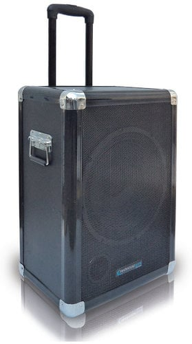"""Technical Pro WASPsub12 12"""" 1000W Peak Portable Subwoofer PA System with Rechargeable Battery WASP12SUB"""
