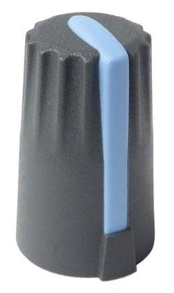 Soundcraft KA0270  Grey and Blue Knob for Spirit 8 KA0270