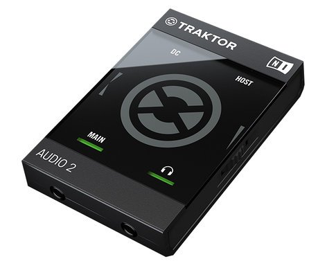 Native Instruments TRAKTOR AUDIO 2 Ultra-Compact 2-Channel DJ Soundcard TRAKTOR-AUDIO-2-MK2