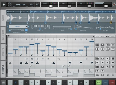 Sugar Bytes Egoist Groove Box Software Instrument Plugin EGOIST