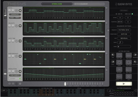 Sugar Bytes Thesys Step Sequencer Software Instrument Plugin THESYS