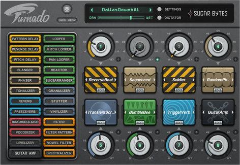 Sugar Bytes Turnado Real-Time Audio Manipulation Software Plugin TURNADO