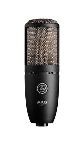 AKG P220  Large Diaphragm Side-Address Cardioid Condenser Microphone P220