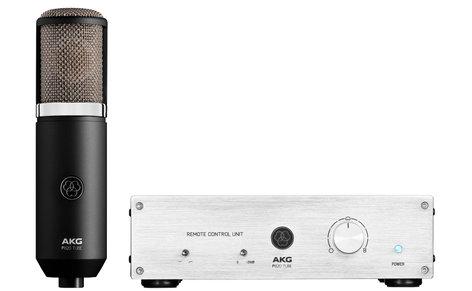 AKG P820-TUBE P820 Tube Dual-Diaphragm Multi-Pattern Side-Address Tube Condenser Microphone P820-TUBE
