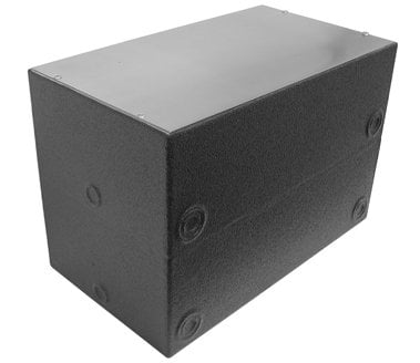 "Ace Backstage Co. 104DDBBXW  Polyurethane Encapsulated Double Deep (12"") Back Box 104DDBBXW"