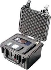 Pelican Cases PC1300-ORANGE Small Orange Mini-D Case with Foam PC1300-ORANGE