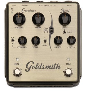 Egnater Custom Amps Goldsmith Overdrive Pedal with Boost GOLDSMITH