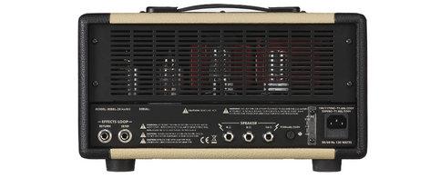 Egnater Custom Amps Rebel 20 MKII 20W Tube Guitar Amplifier Head REBEL-20-MKII